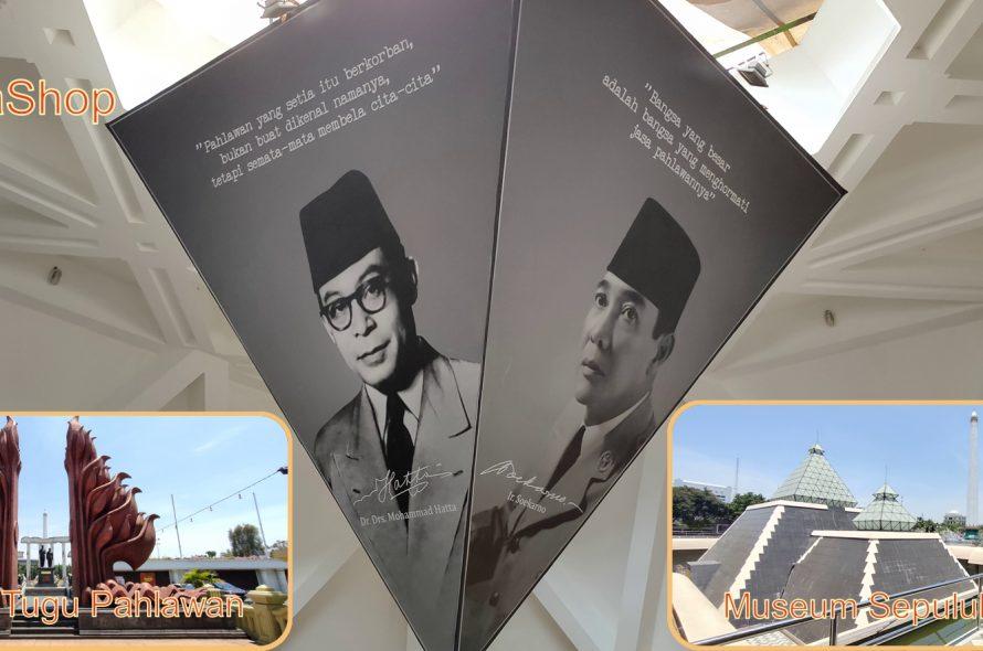 Kota Surabaya – Museum Sepuluh Nopember di Tugu Pahlawan