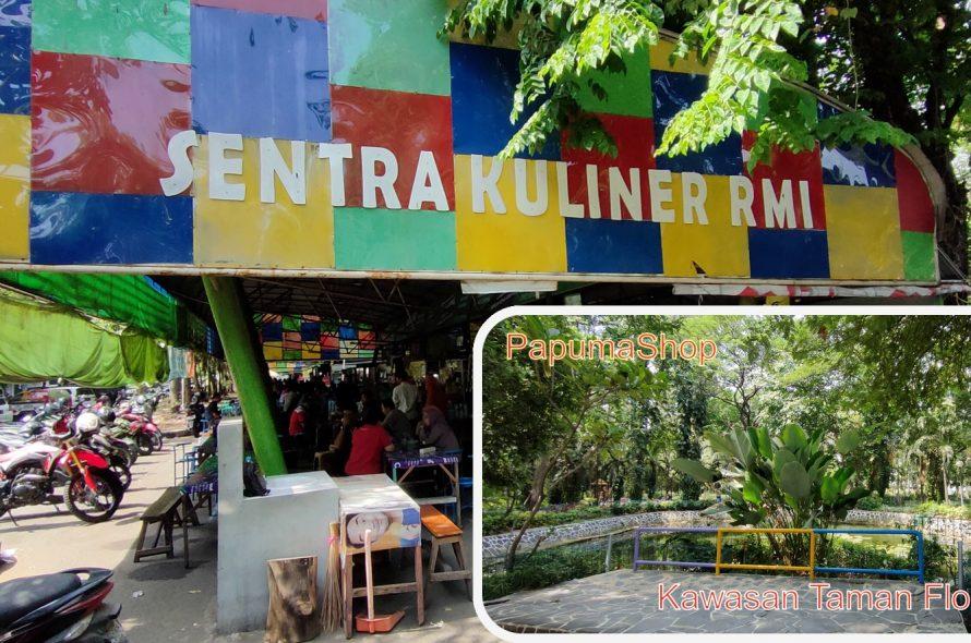 Kota Surabaya – Sentral Kuliner RMI & Taman Flora (Kebon Bibit)